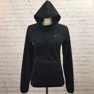 NIKE Therma-Fit Black Long Sleeve Hoodie sz XS